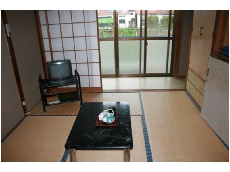 本館和室6畳〈トイレなし〉 (Japanese-style Room (Main Building) *No toilet in room)
