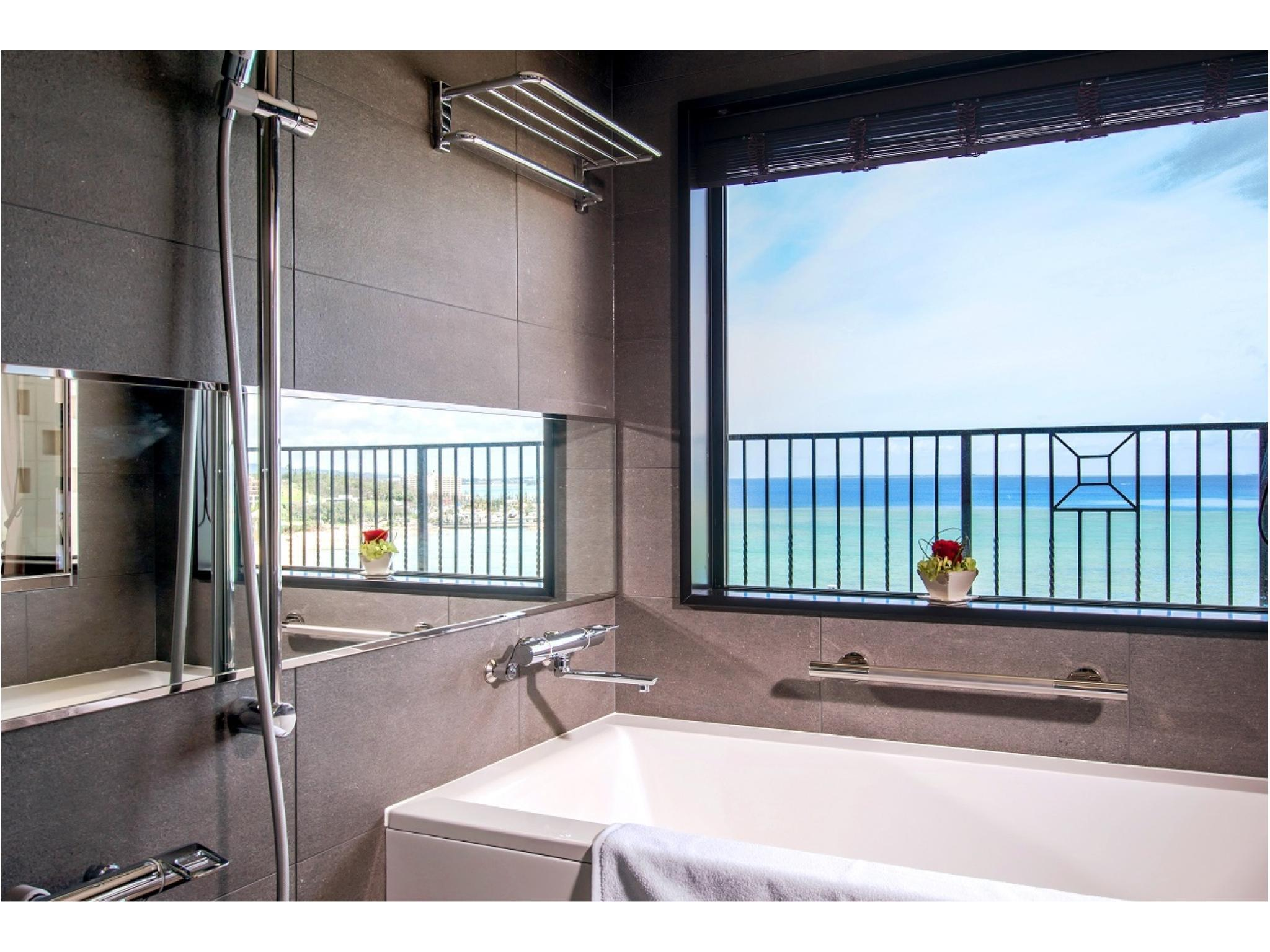 Ocean Bath Twin Room