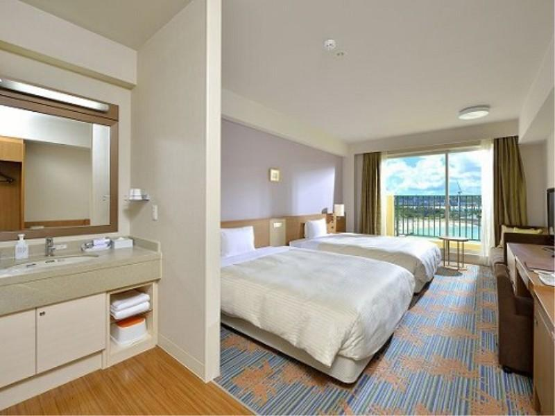 슈페리어 오션뷰 트윈룸 (Superior Oceanview Twin Room (Main Building))