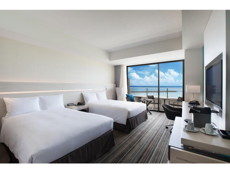 海景 行政房(双人双床房) (Executive Twin Room (Ocean View))