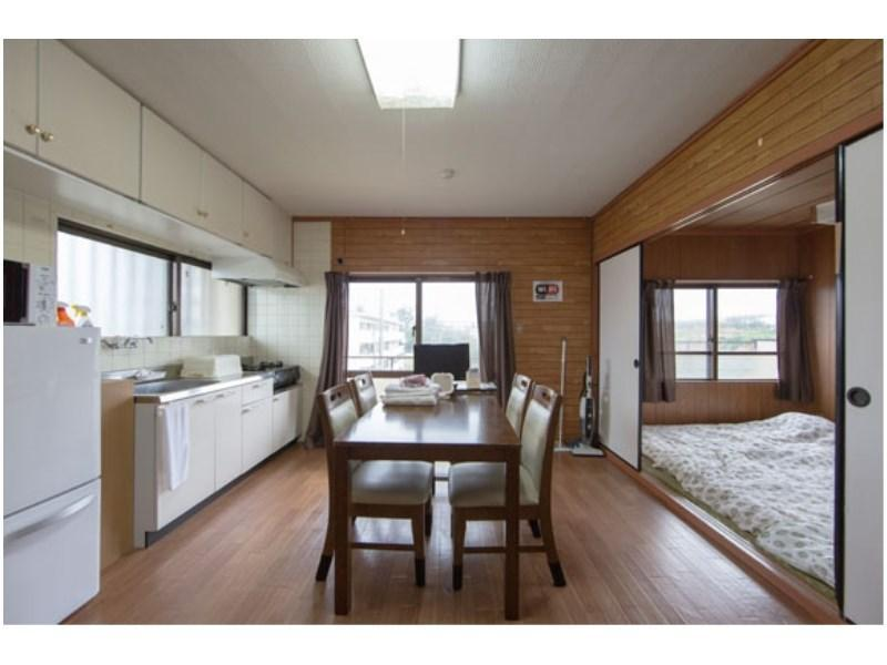 302号室 3F【2DK】|50平米 (Japanese/Western-style Room (2 Bedrooms + Dining & Kitchen, No. 302))