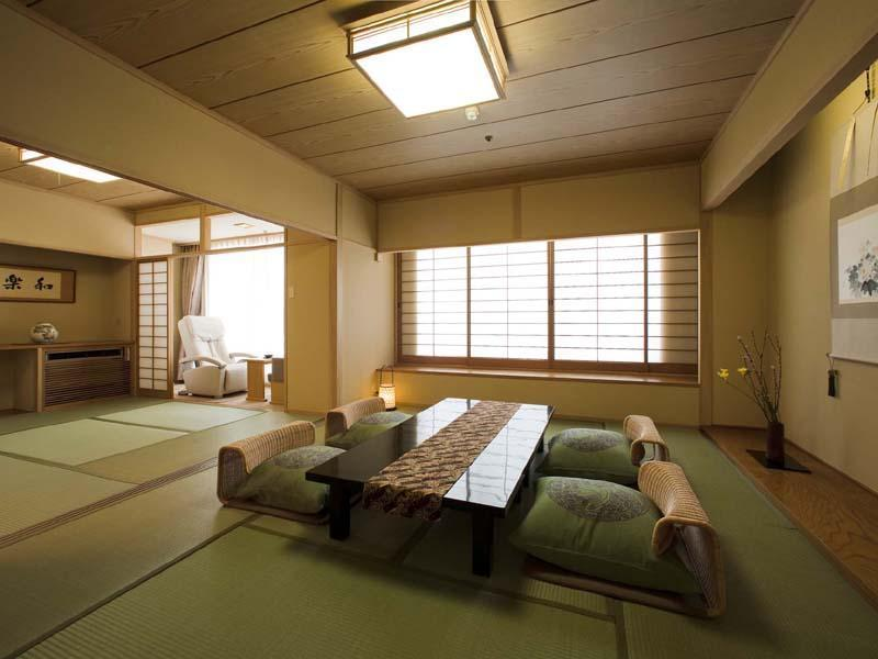★【開花亭】 二間続き和室 (Japanese-style Room with Massage Chair (San-no-Yakata Wing))