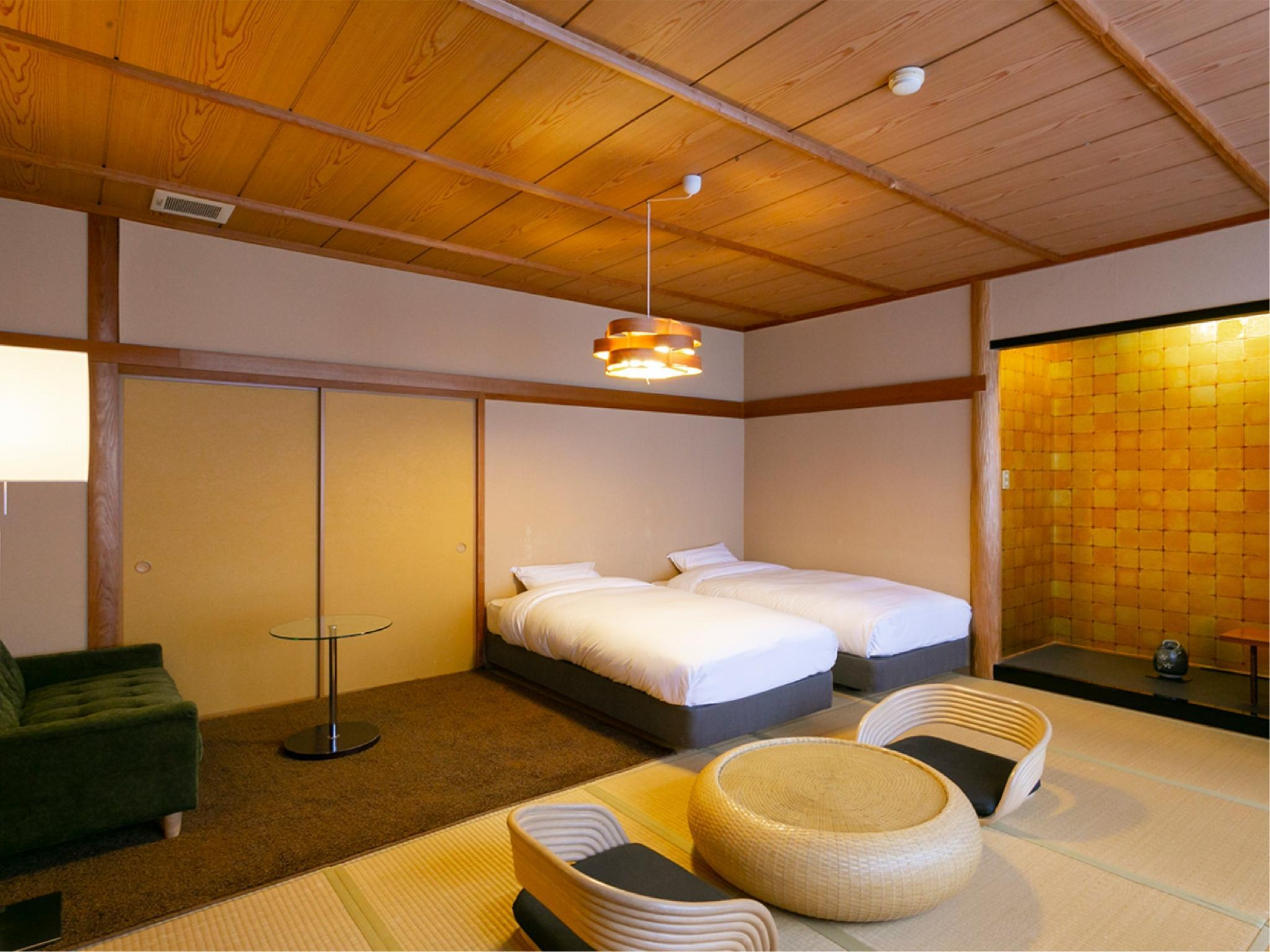 Standard Japanese/Western-style Wide Twin Room (Type A)