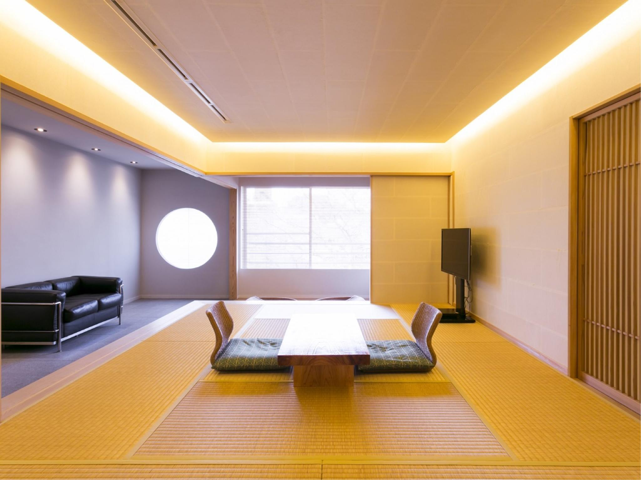 Premium Japanese/Western-style Room with Hot Spring (Aoi Type)