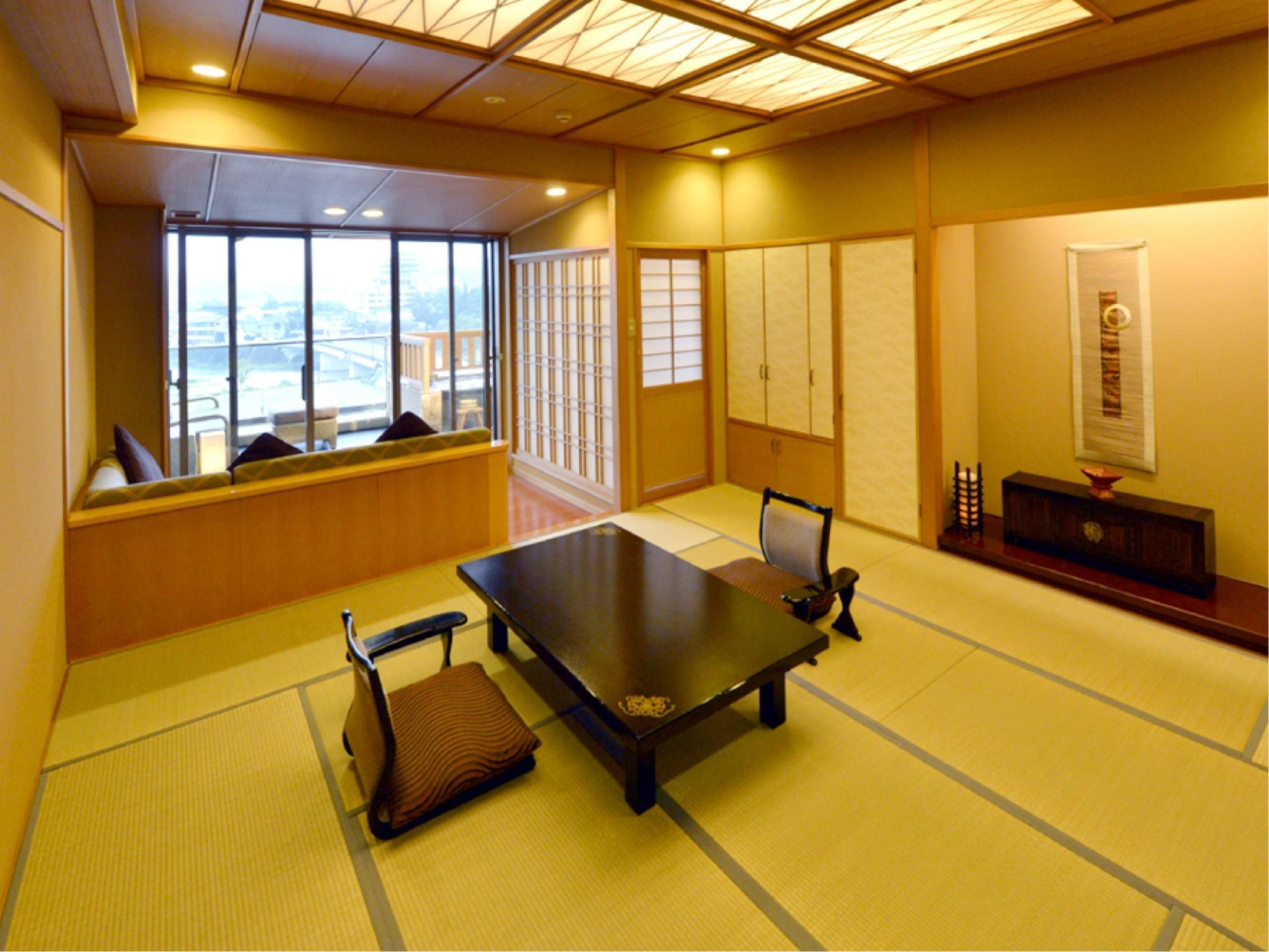 和室露天風呂付 (Japanese-style Room with Open-air Bath (Seiryu-kan Wing))