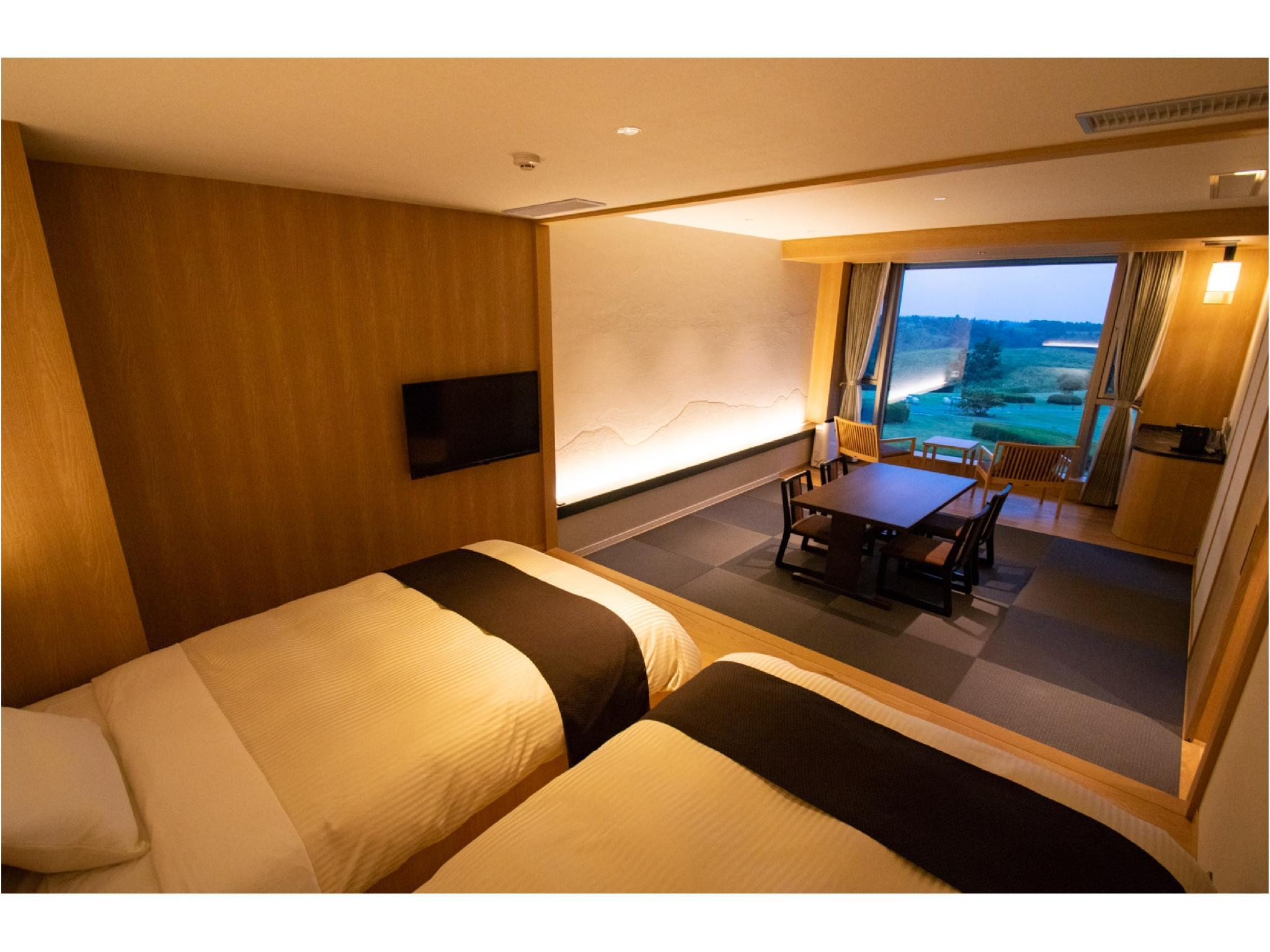 Standard Japanese/Western-style Room (West Wing) *No view designation