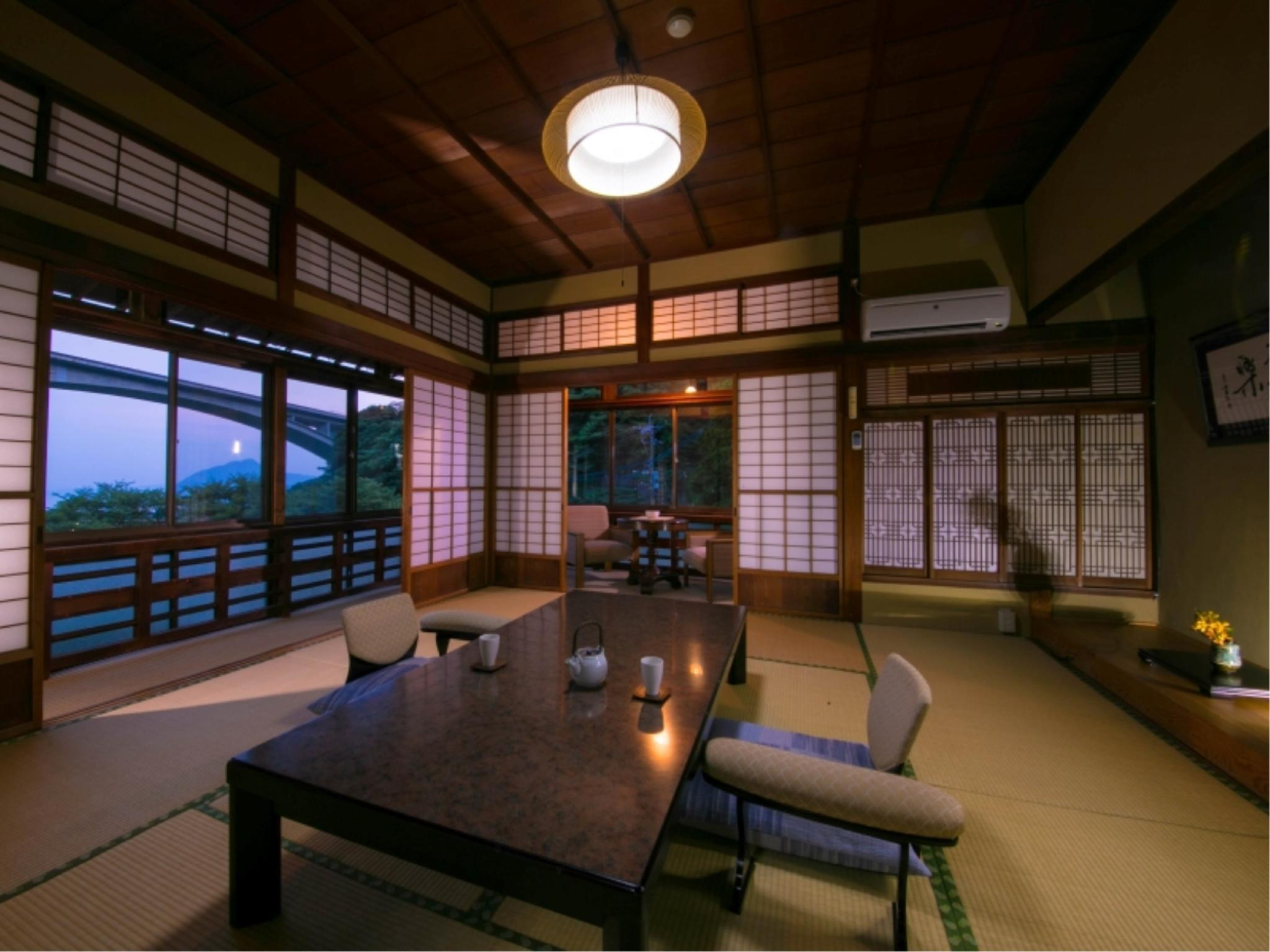 特別房(和式房+溫泉浴室) (Special Japanese-style Room with Hot Spring Bath)