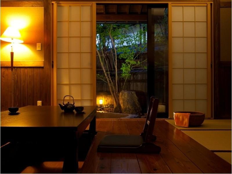 다다미 객실(별채/노천탕) (Detached Japanese-style Room with Open-air Bath)