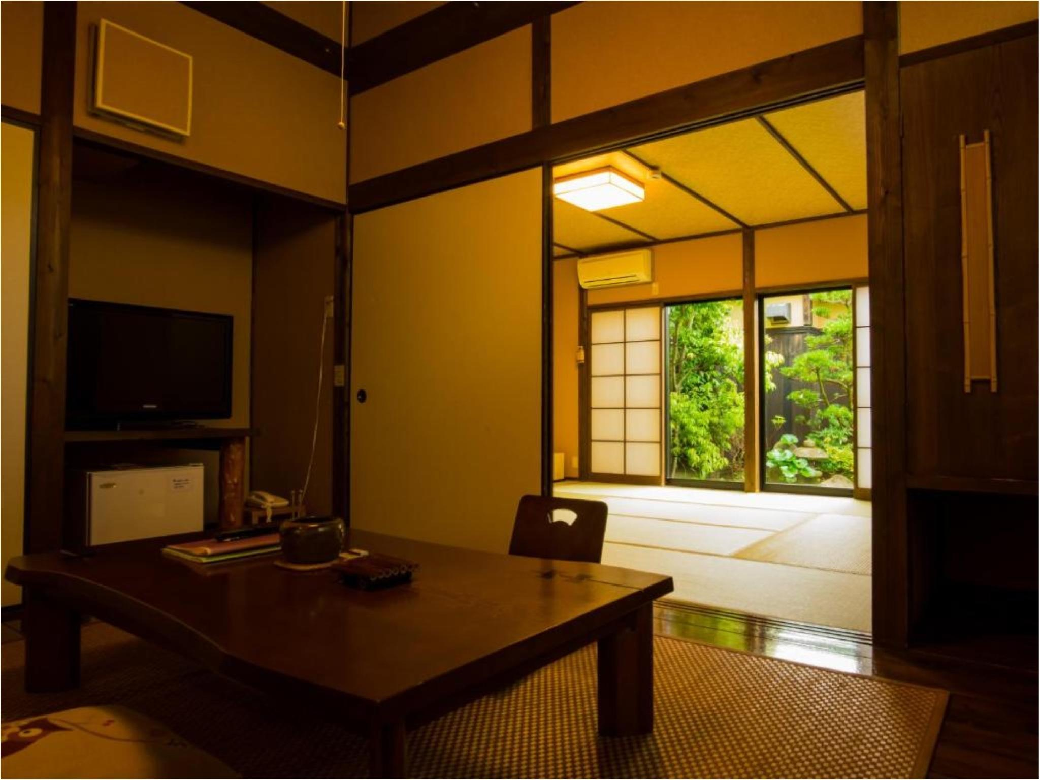 다다미 객실(별채/히노키탕) (Detached Japanese-style Room with Cypress Bath)