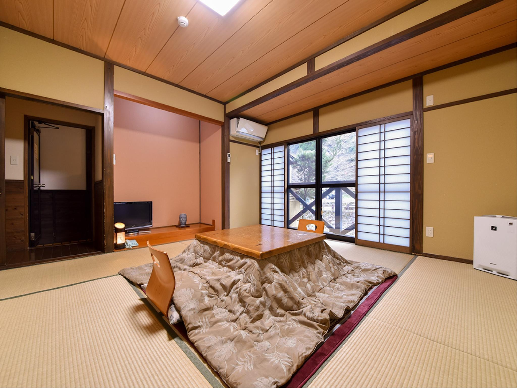 獨立房(和式房+露天風呂) (Detached Japanese-style Room with Open-air Bath)