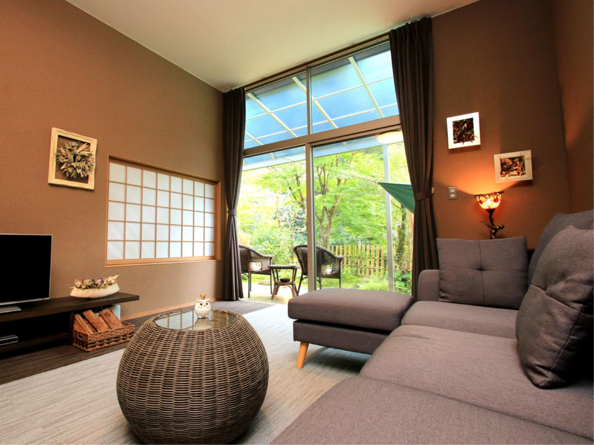 Twin Room with Private Garden (Tsuki Wing/Cho Wing)