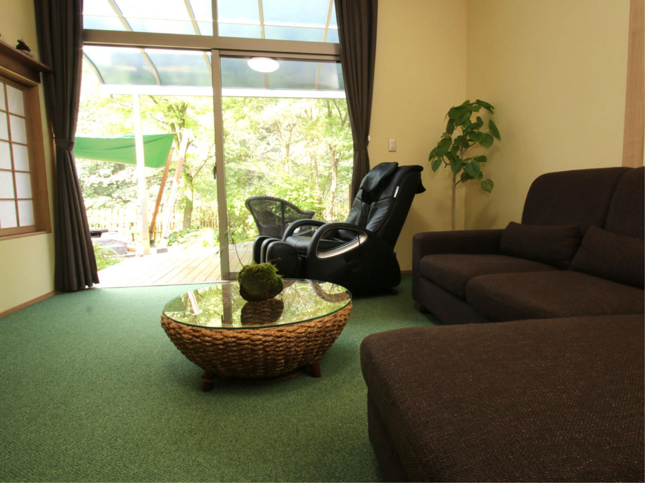 Double Room with Private Garden (Mizu Wing)