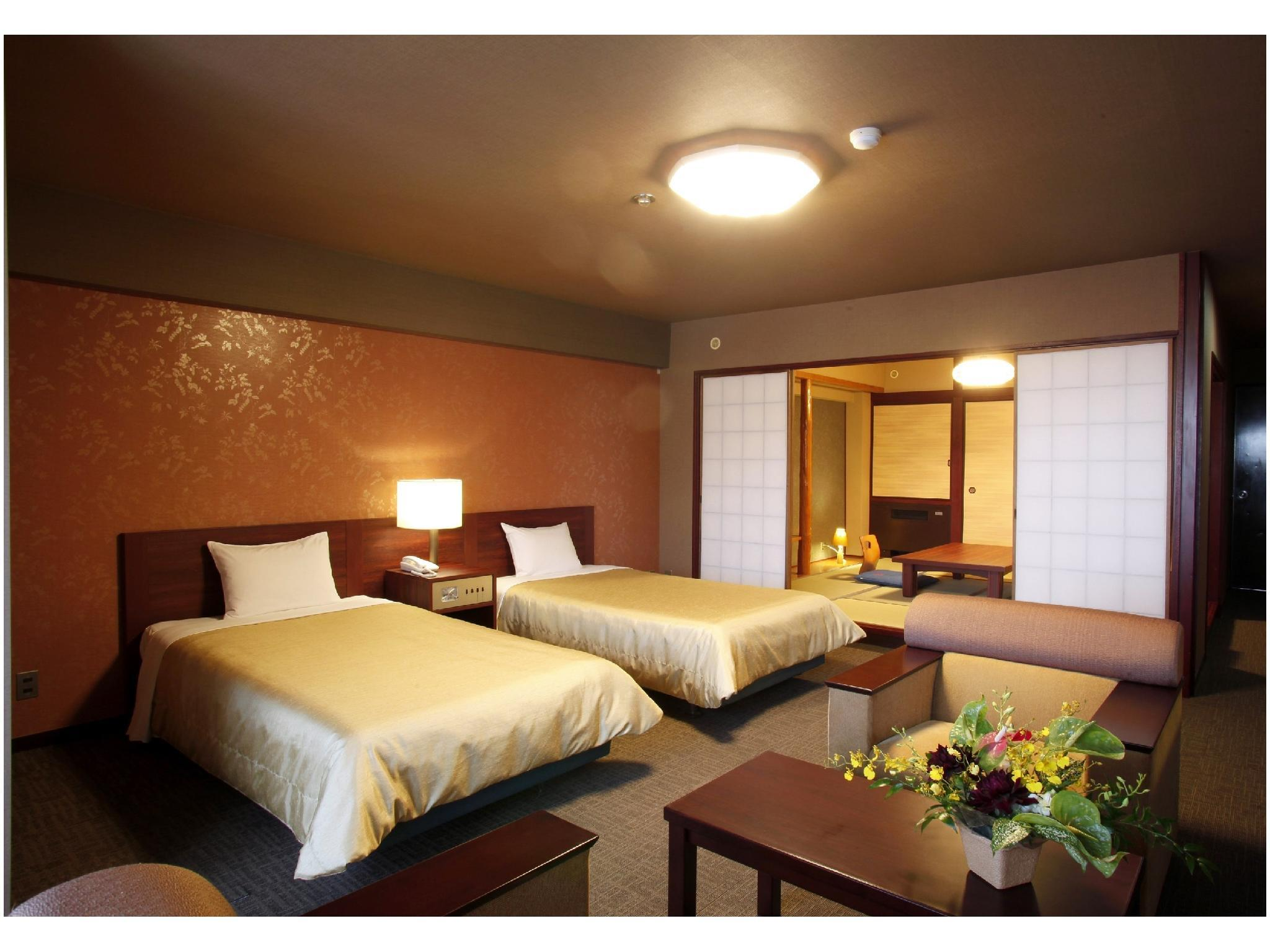 Japanese Western Style Room with Twin Bed