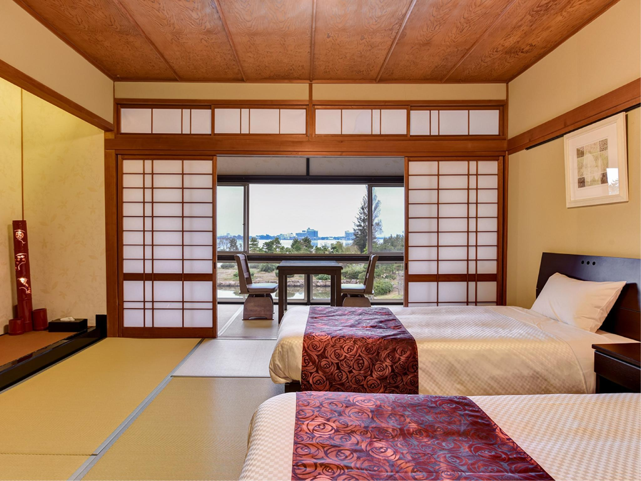 和式房+床 (Japanese-style Room with Bed/s)