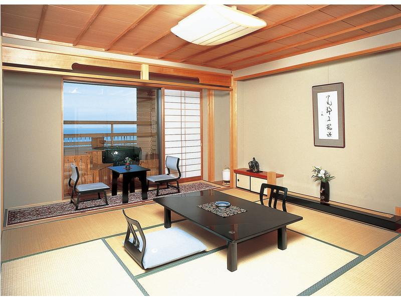 다다미 객실(노천탕/전망탕) (2020년4월1일 숙박부터 금연) (Japanese-style Room with Open-air Bath + Scenic View Bath (*Non-smoking from 2020/4/1))