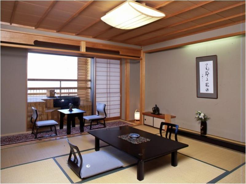 Japanese-style Room with Open-air Bath + Scenic View Bath (*Non-smoking from 2020/4/1)