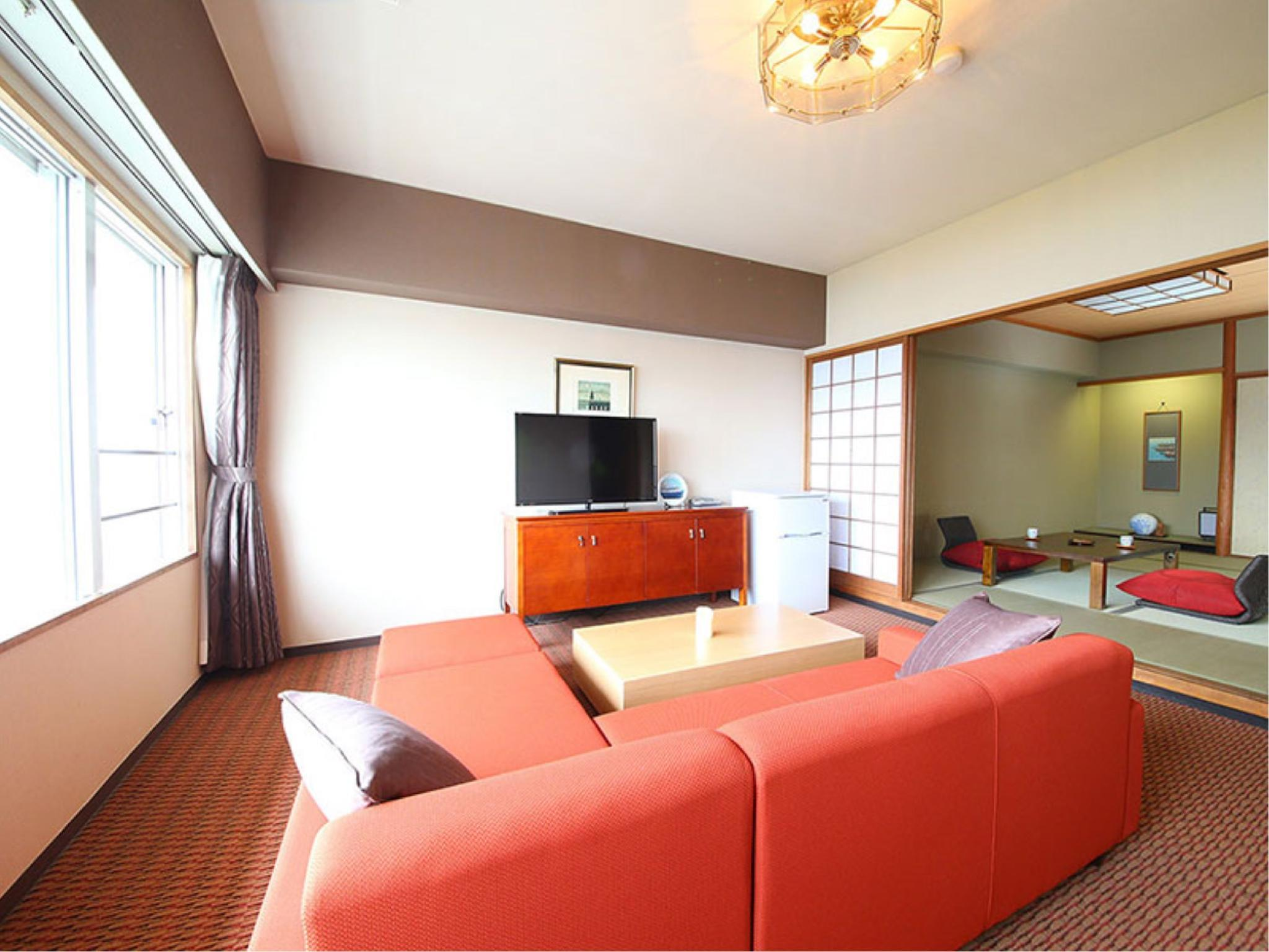 Special Room (Twin Room + Japanese-style Room + Living Room)