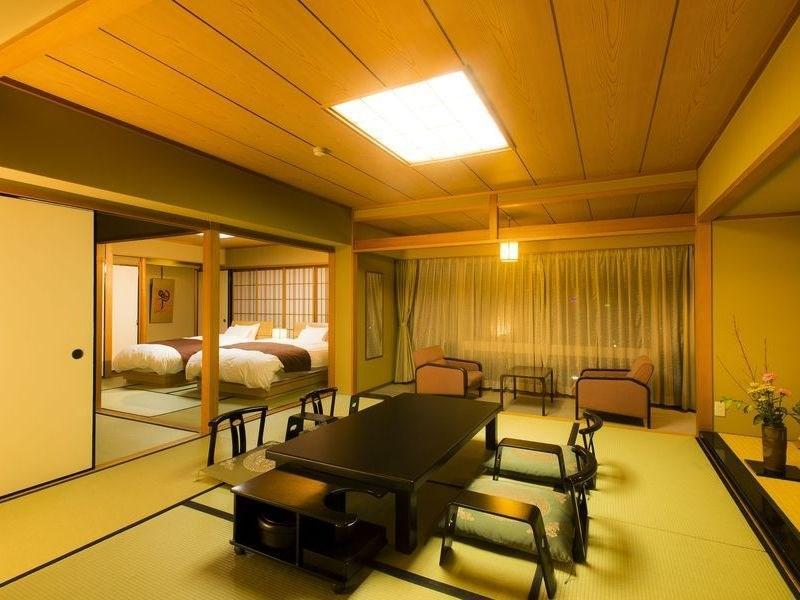 일본식 모던룸(본관/기쿠노토키 플로어/2베드) (Modern Japanese-style Room (2 Beds, Kiku-no-Toki Floor, Main Building))