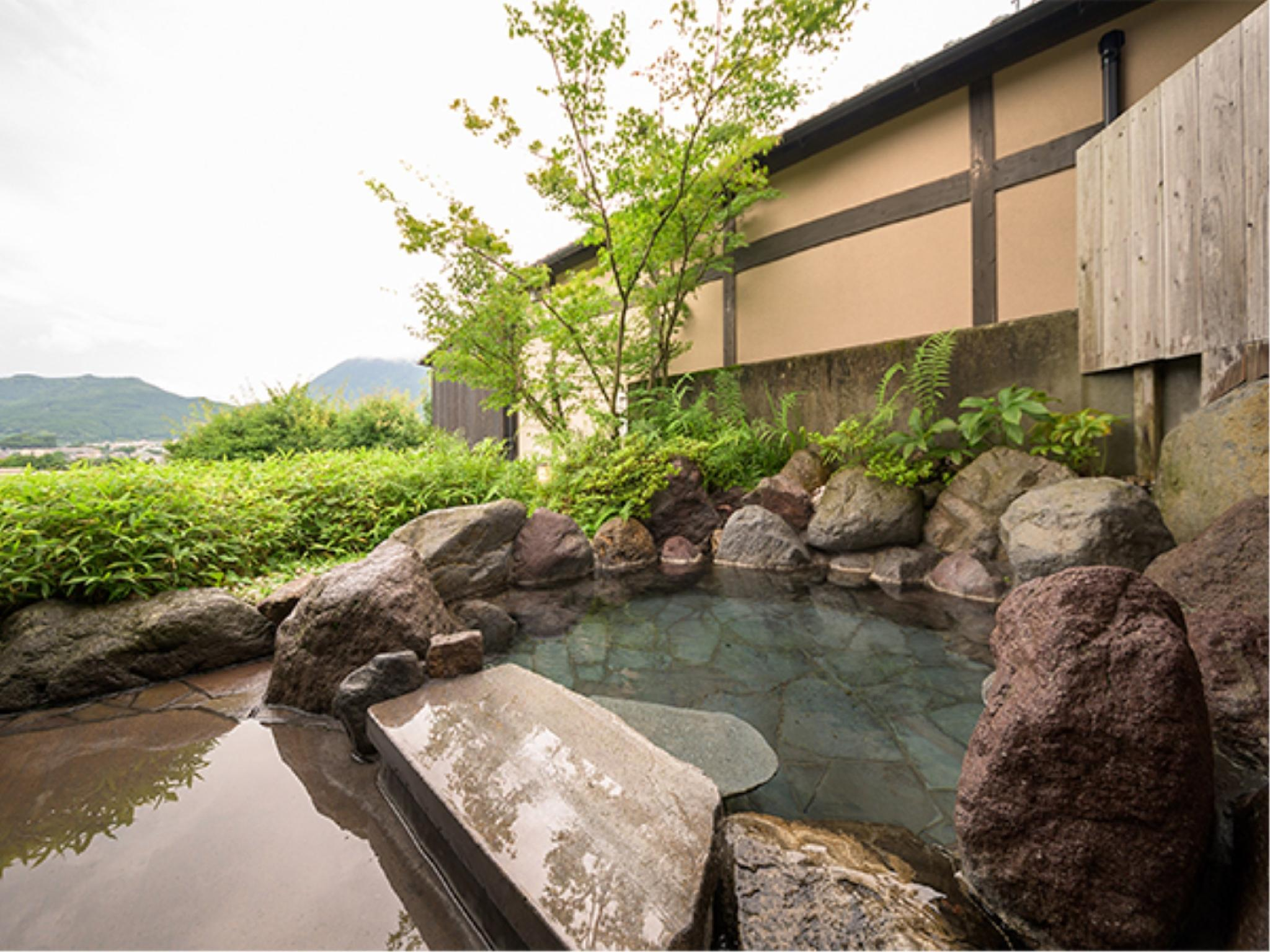別邸 和洋式房(和式房+寢室+室内風呂+露天風呂) (Japanese/Western-style Room with Open-air Bath & Indoor Bath (Japanese-style Room + Bedroom, Annex))