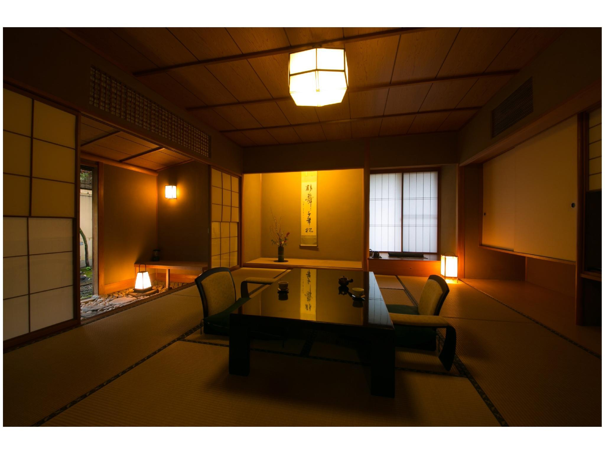 無二庵 露天風呂付|10畳+次の間6畳 (Detached Japanese-style Room with Open-air Bath (Munian Building))