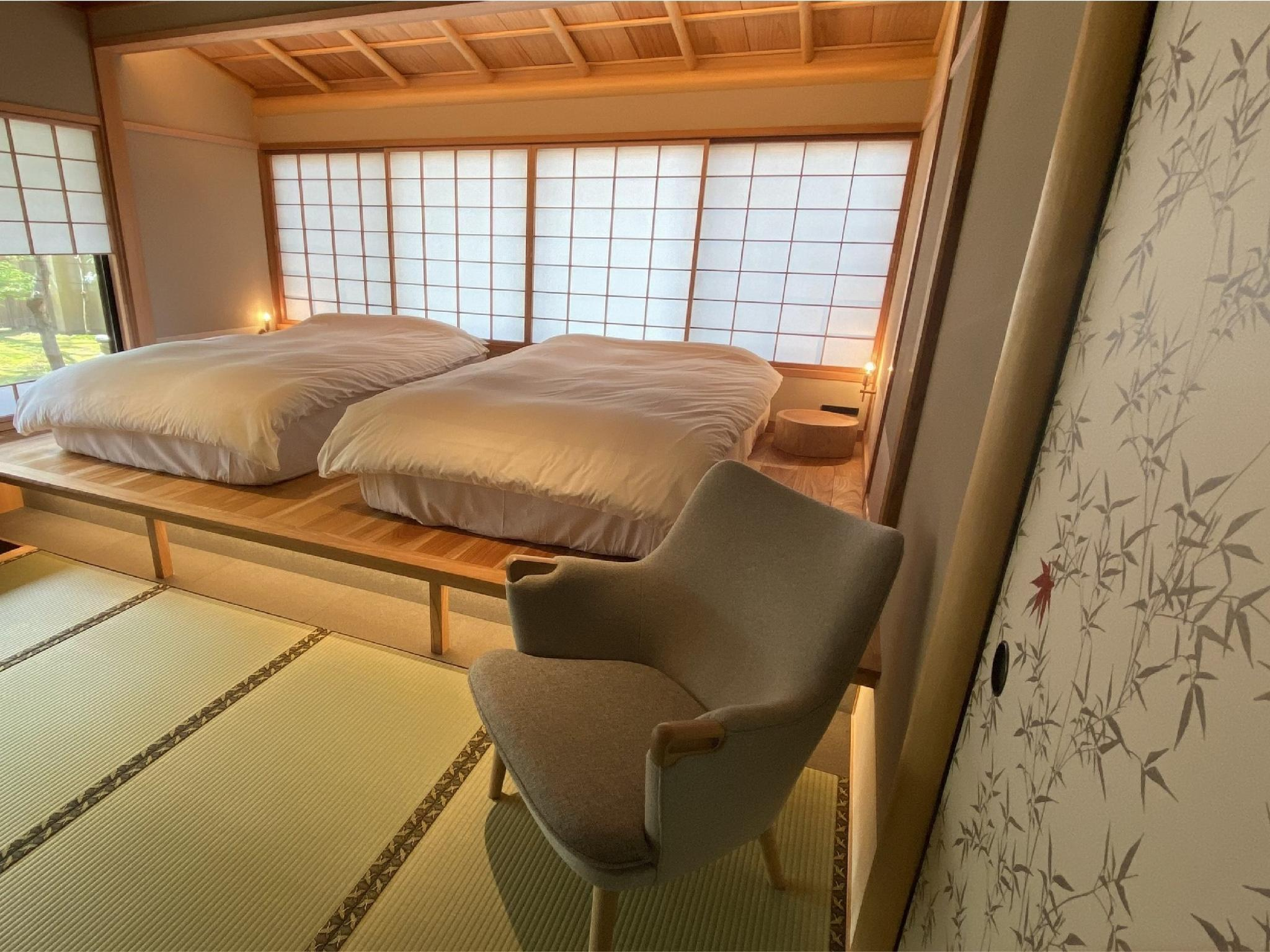 Detached Japanese-style Room with Open-air Bath (Shuseian Building)