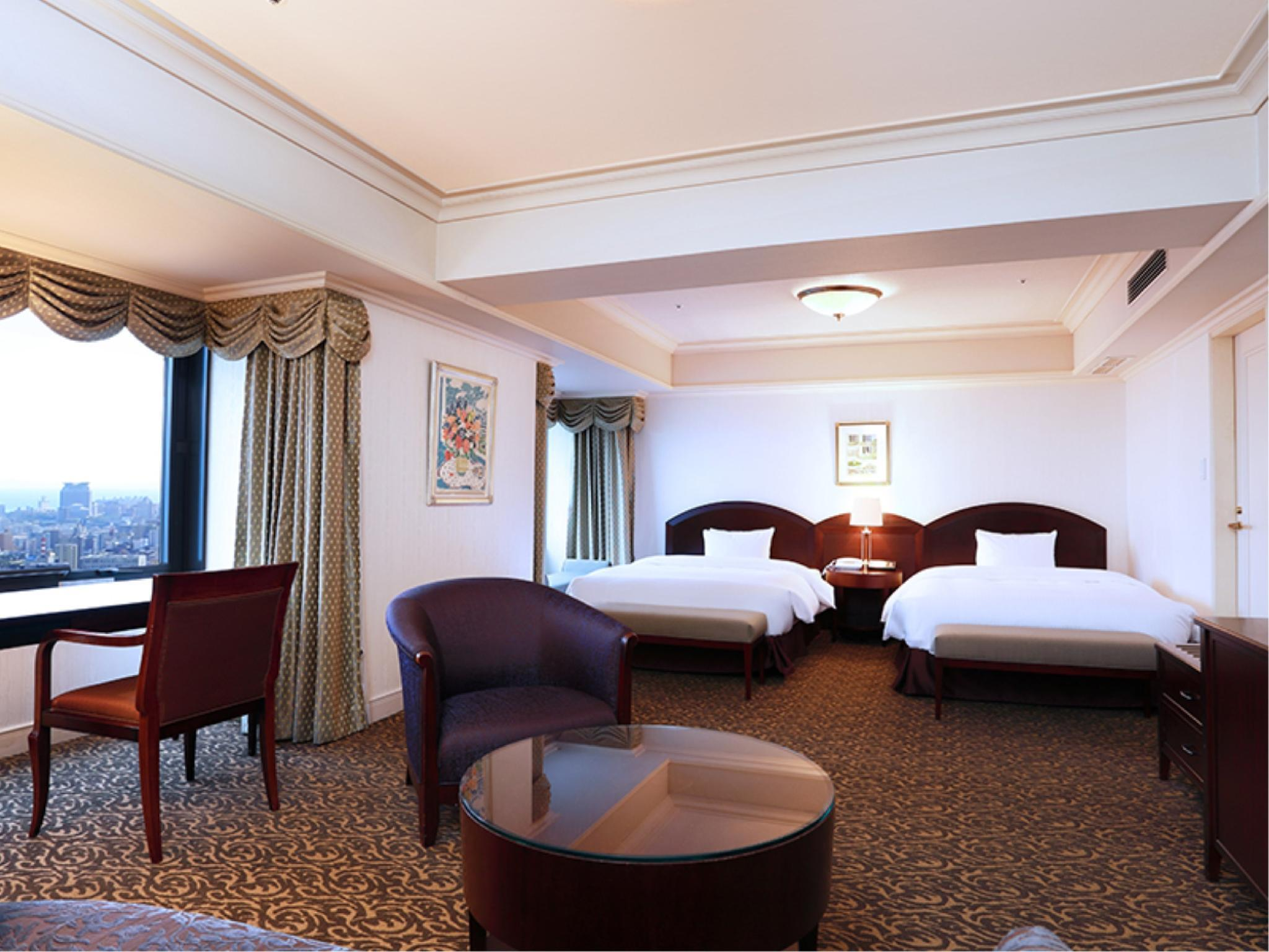 行政双人双床房 (Executive Twin Room (Island View))