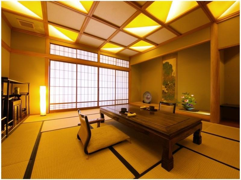 黎明之棟 和式房12.5帖榻榻米+寢室(附2張床) (Japanese-style Room with 2 Beds (12.5 tatami + Bedroom, Reimei Wing))