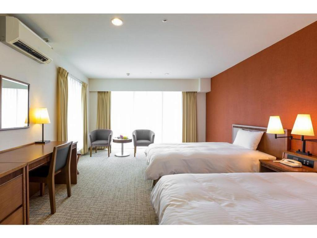 Standard Room - Twin - Guestroom EM Wellness Resort Costa Vista Okinawa Hotel & Spa