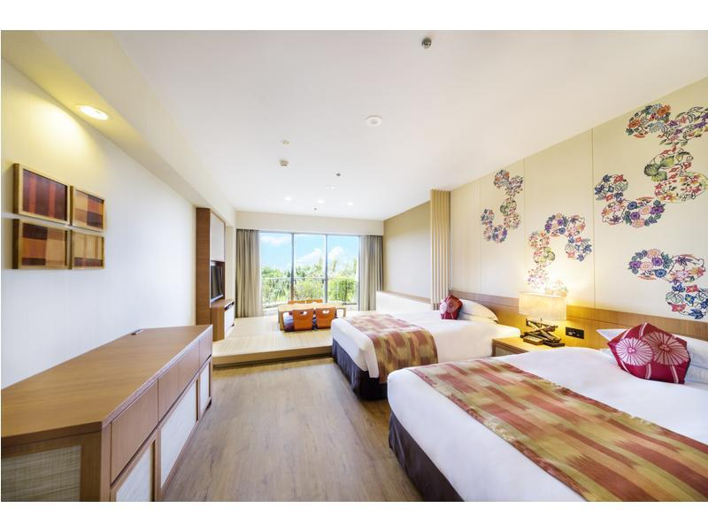 Japanese/Western-style Room (2 Beds, Coral Wing)
