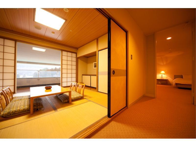 【禁煙】和洋室 (Japanese/Western-style Room (2 Beds))