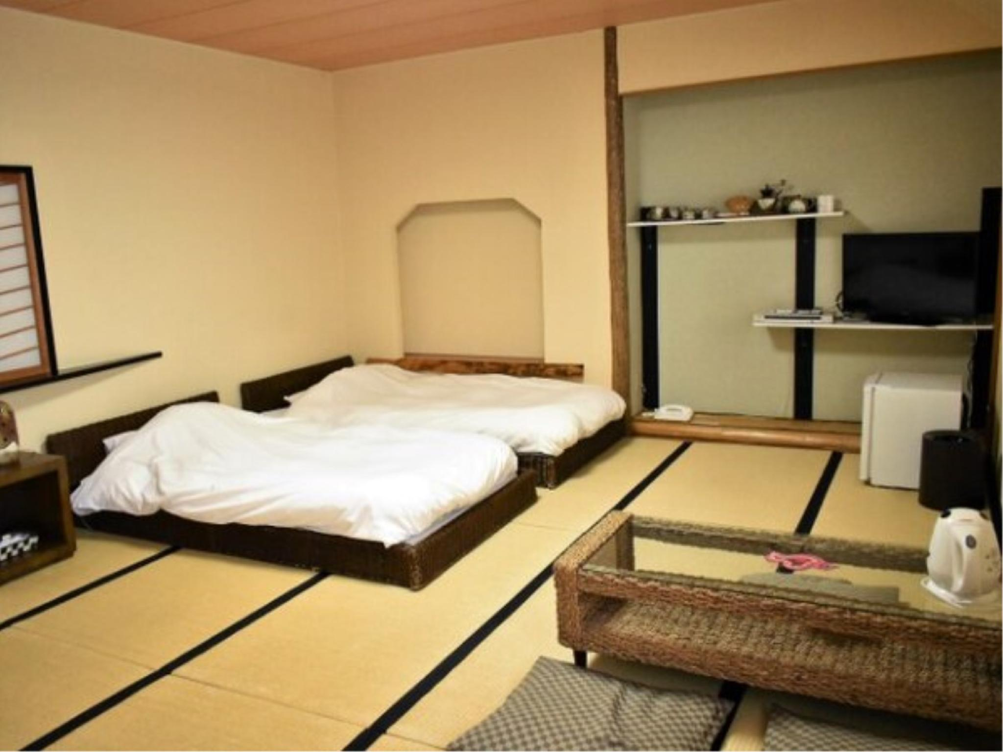 本館 和式房(2張單人床) (Japanese-style Room (Twin Beds, Main Building))