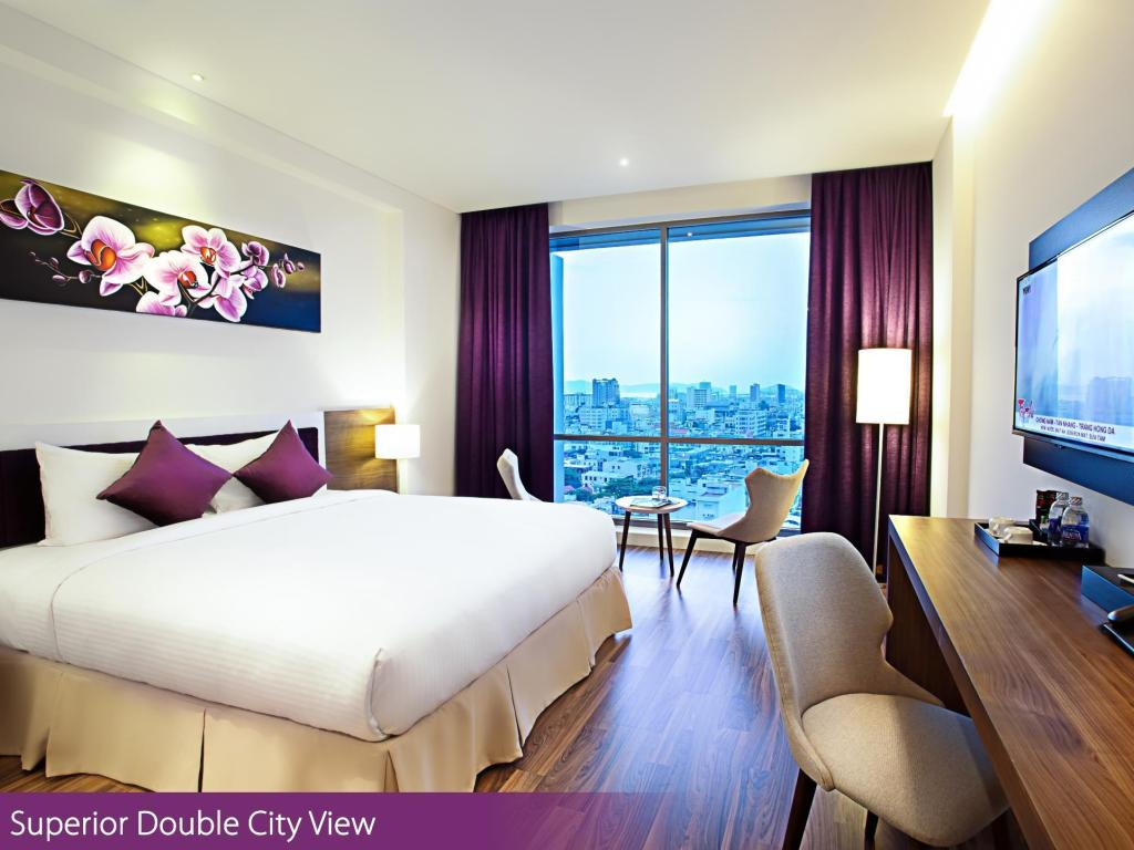 Superior Double City View - Room plan Vanda Hotel