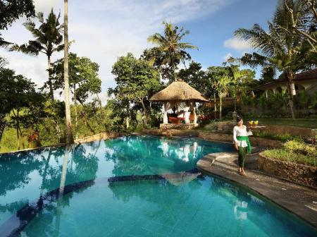 Kolam renang luar ruangan Bunut Garden Luxury Private Pool Villa