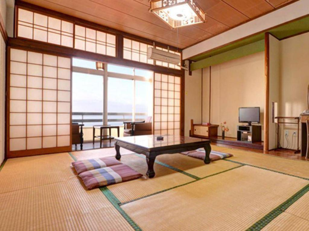 Japanese Style With Ocean View Sakurajima Seaside Hotel