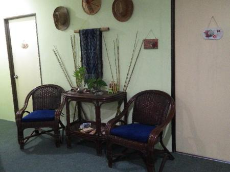 Interior view Borneo Swiss Guest House