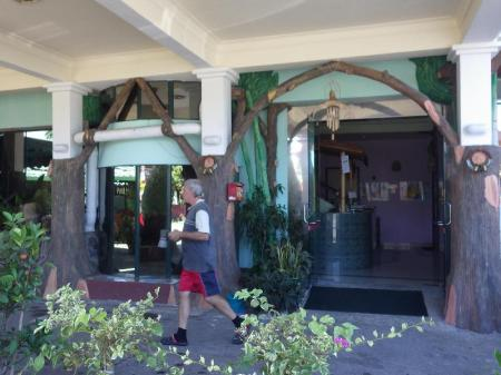 Entrance Borneo Swiss Guest House