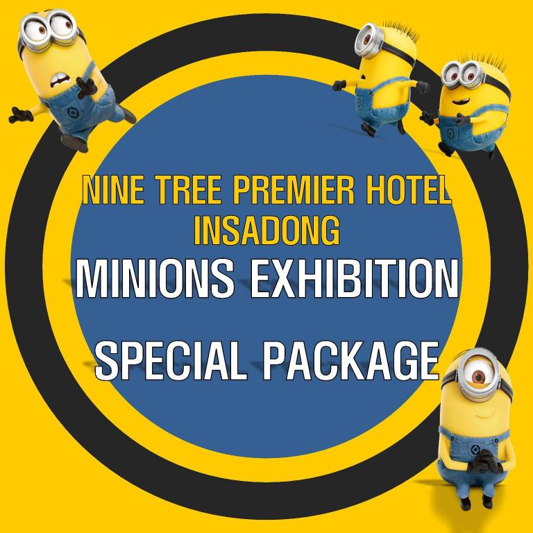 Standard Triple Room - A Minions Perspective Exhibition Tickets for 3 Included