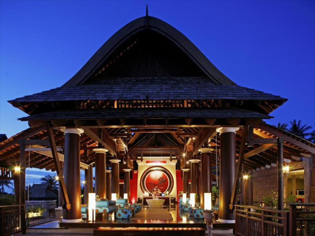 Lobby Bhundhari Spa Resort & Villas Samui