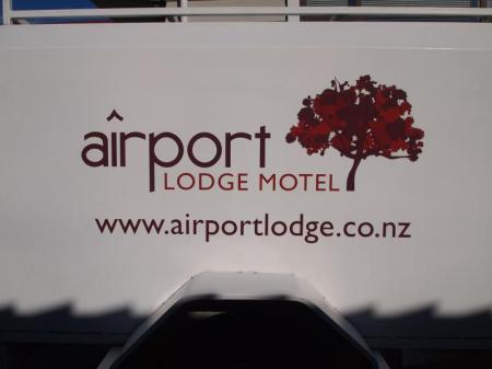 Inngang Airport Lodge Motel