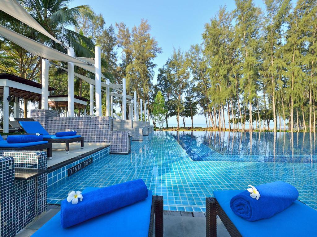 utomhuspool Dusit Thani Krabi Beach Resort