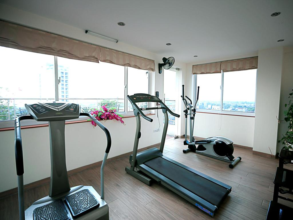 fitness centrum Moon View Hotel