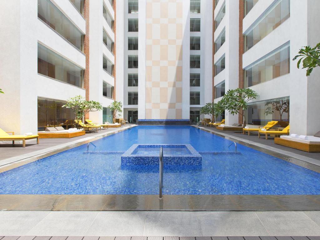 Best price on sheraton hyderabad hotel in hyderabad reviews for Swimming pool maintenance in hyderabad
