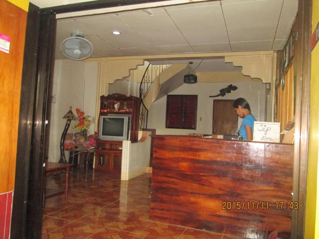 Reception Lagrosa Backpackers
