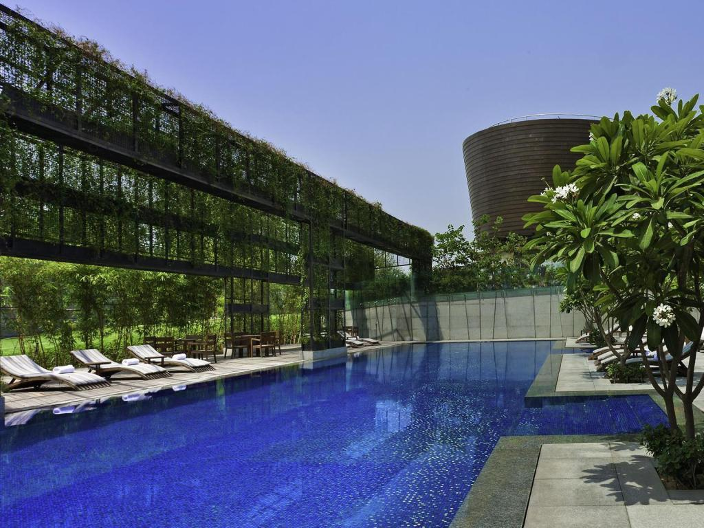 utomhuspool The Westin Gurgaon Hotel - New Delhi