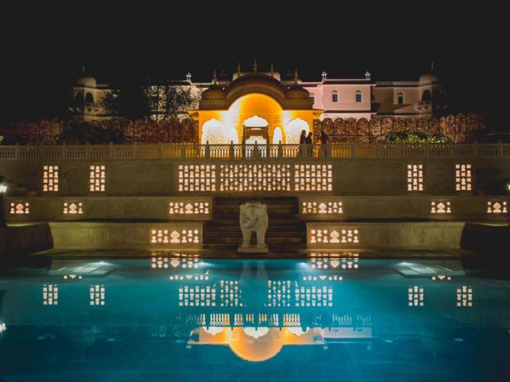 Swimming pool [outdoor] Nahargarh Palace Ranthambhore