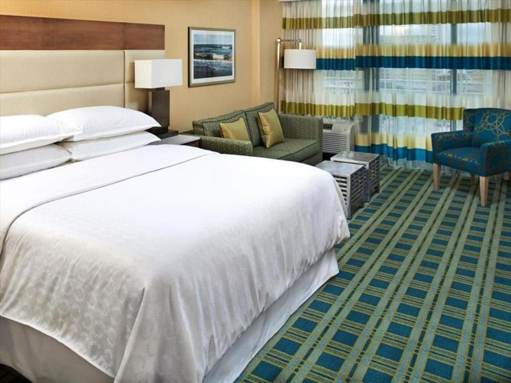 Traditional Partial View King - Bed Sheraton Virginia Beach Oceanfront Hotel
