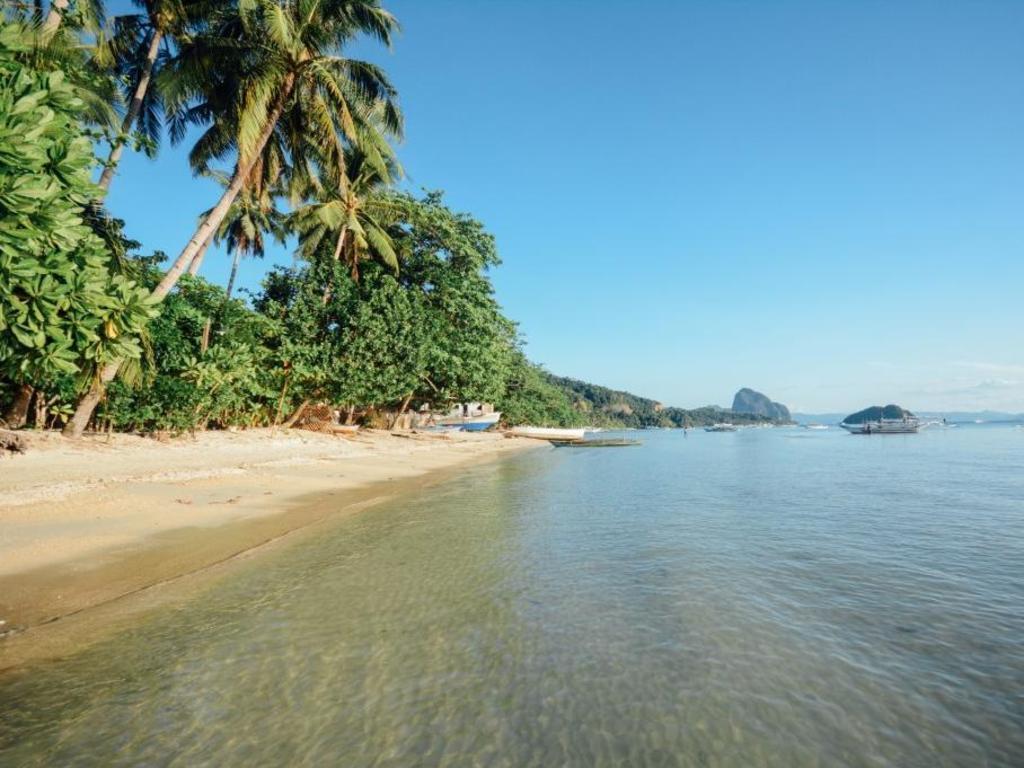 El Nido Beach Hotel Palawan Location