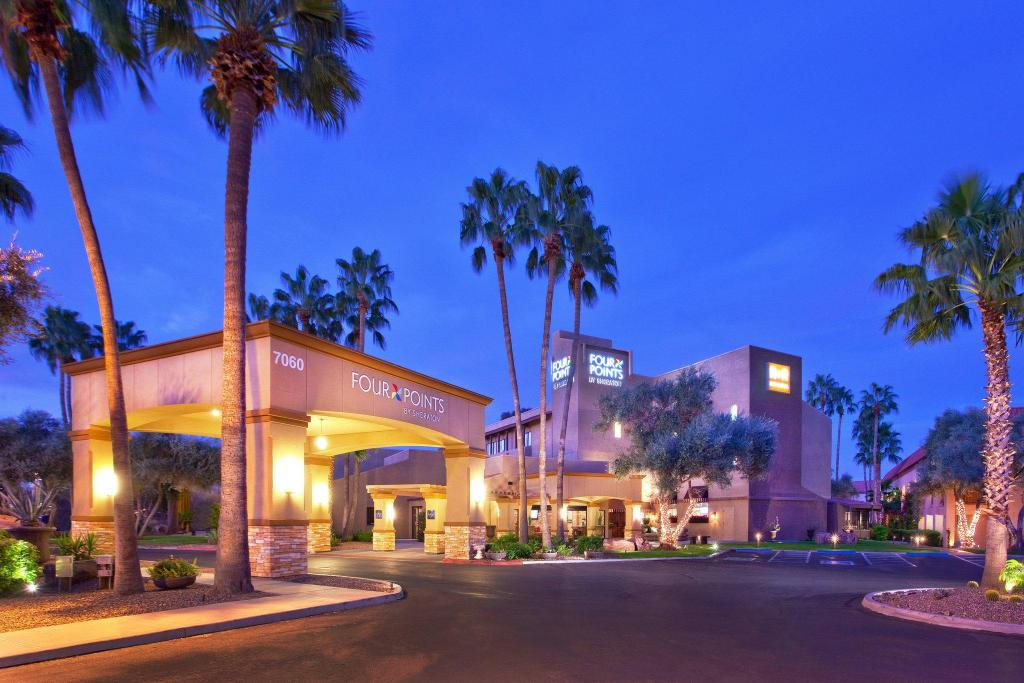 Exterior view Four Points by Sheraton Tucson Airport