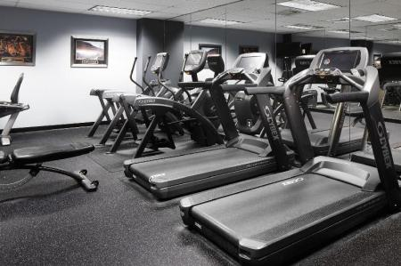 Fitness center Club Quarters Hotel in San Francisco