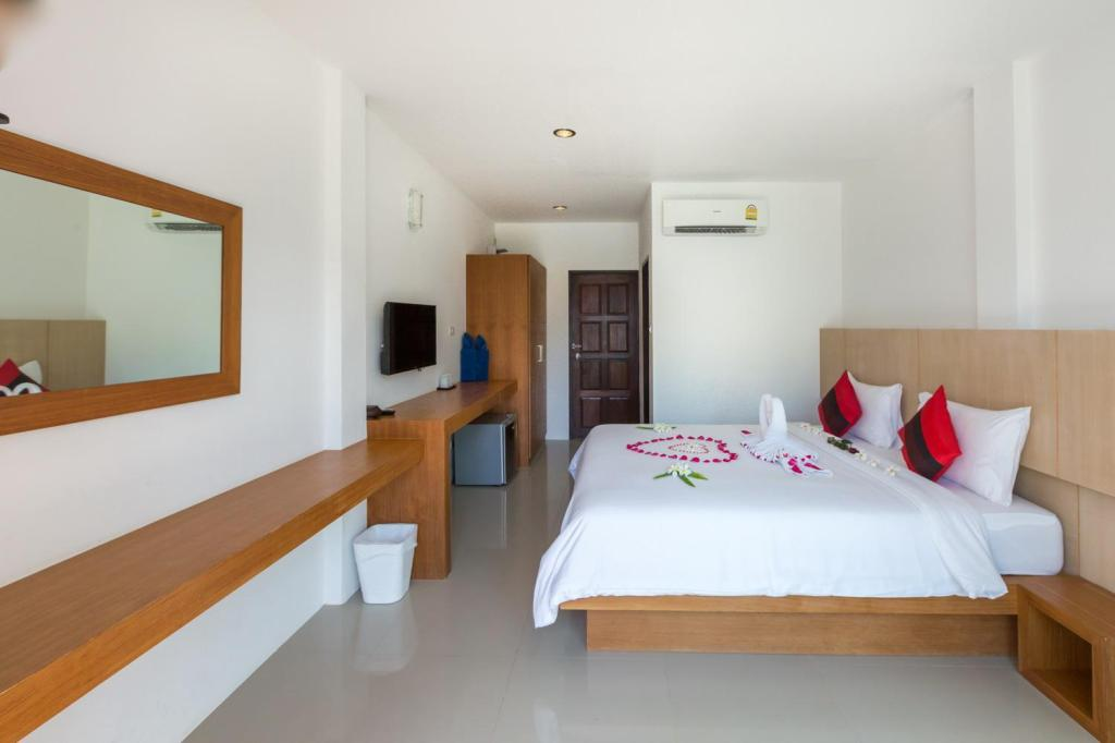 Superior Room - Bed i-samui lamai beach